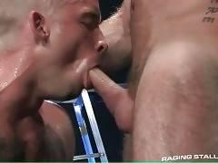 Handsome Toned Guys Enjoy Hot Oral 2