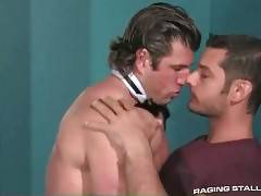 Hot Looking Muscled Guys Free Their Lust 1