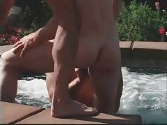 Horny Toned Dudes Are Fucking Poolside 3