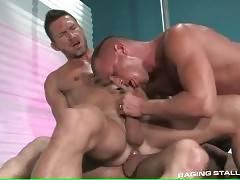 Horny Mature Bulls Enjoy Hot Threesome 3
